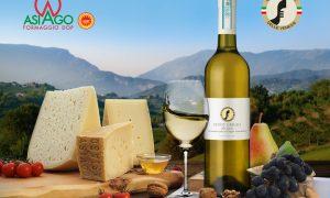 Il Pinot grigio DOC delle Venezie e il formaggio Asiago DOP protagonisti a Malta