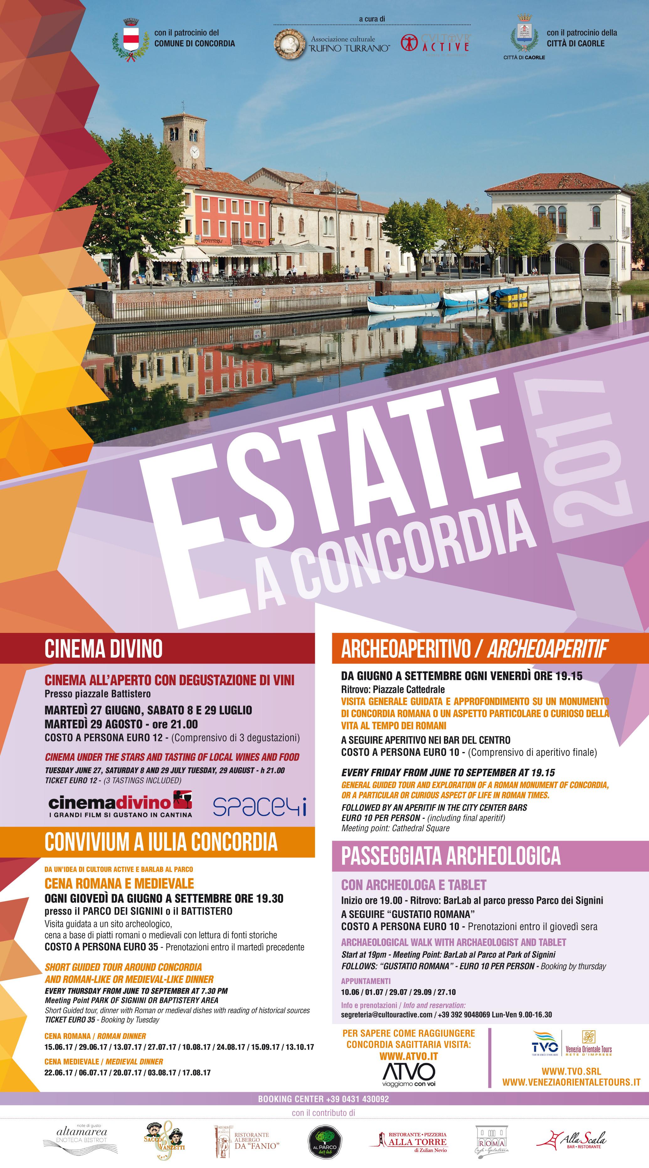 Estate a Concordia 2017